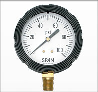 "2.5"" Span Liquid Filled Pressure Gauge"