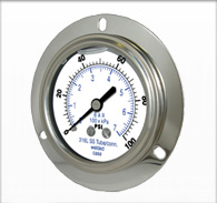 Stainless Liquid Filled Gauges – Series 3