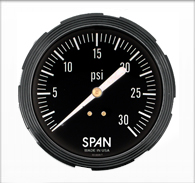 3.5″ Span Liquid Filled Sub-Sea Gauge