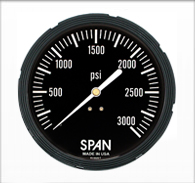 4.5″ Span Liquid Filled Sub-Sea Gauge