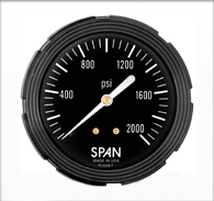 2.5″ Span Liquid Filled Sub-Sea Gauge